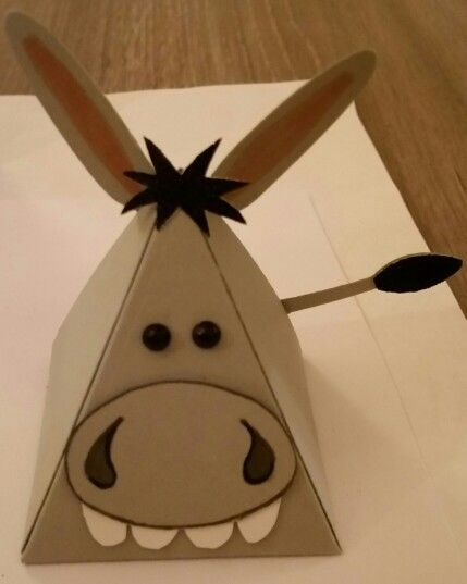 Playful pals - Stampin up.  Donkey by Dawn Watson
