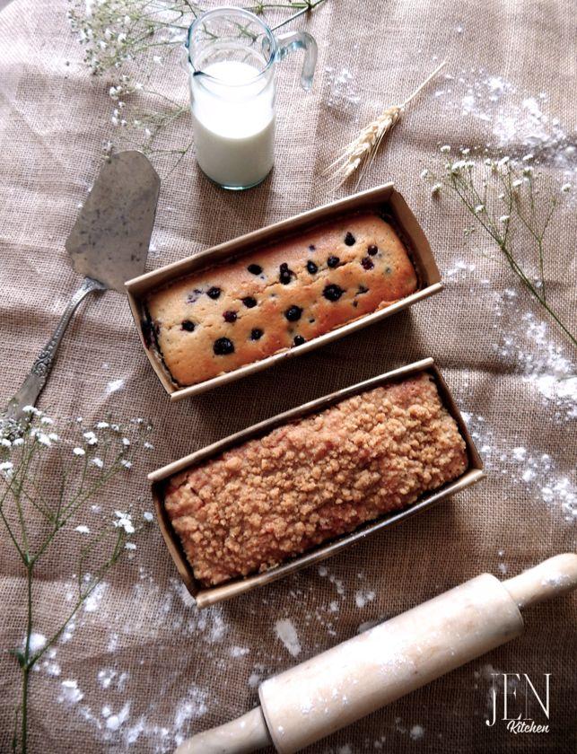 pound cake, caseritos