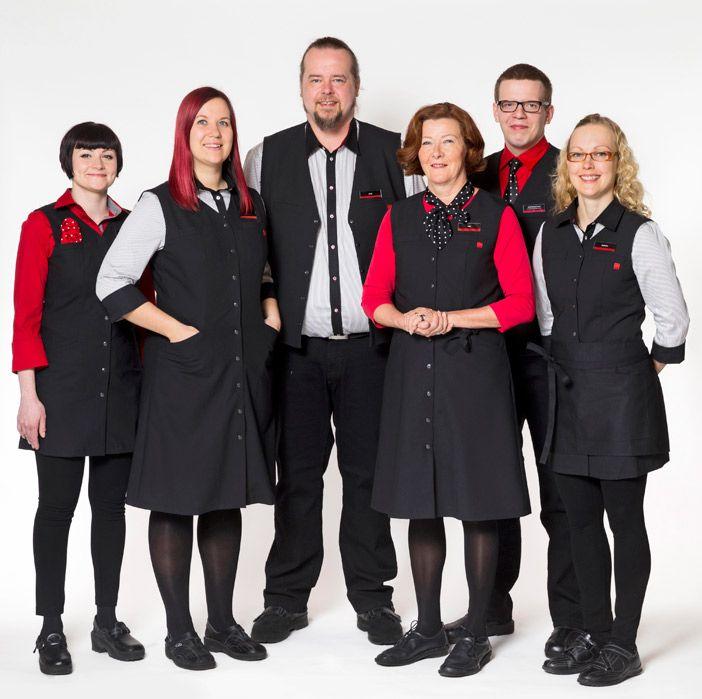 Ritva-Liisa Pohjalainen Alko's work uniforms 2015