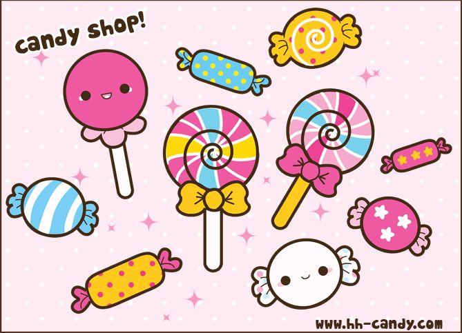 Kawaii Candy Shop by A-Little-Kitty.deviantart.com on @deviantART