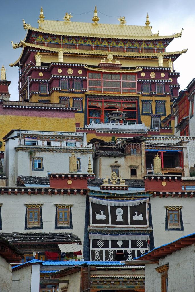Temple of Shangri-la ~ Tibet