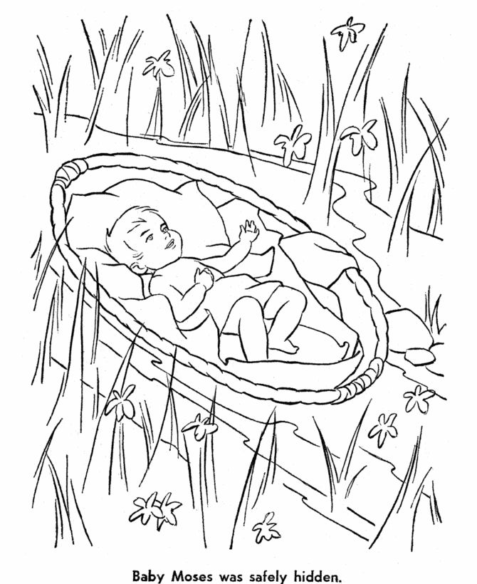 bible story characters coloring page sheets baby moses coloring page sunday school and vbs