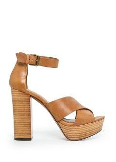 Sandalia piel pulsera - Mujer | OUTLET
