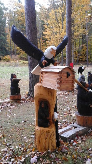 Best chainsaw carvings images on pinterest carving