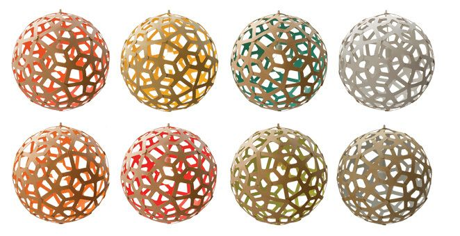 Coral Lamps David Trubridge
