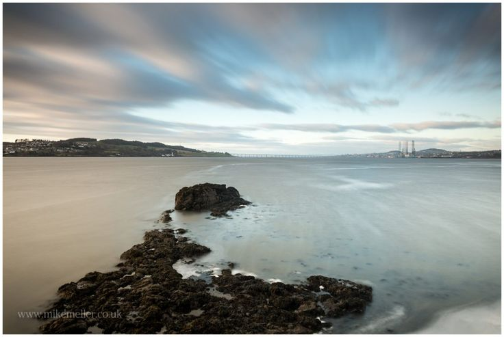 View Over Tay Bridge from Broughty Ferry, SCOTLAND. Landscape Photography.