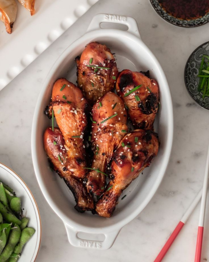 Five Ingredient Japanese Sticky Chicken