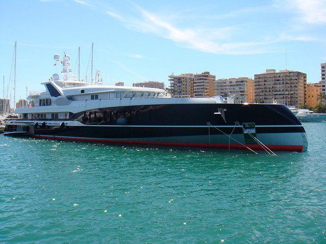 Predator motor yacht