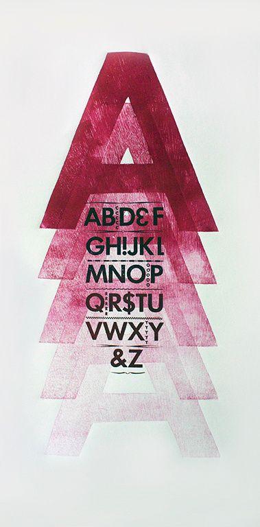 Letterpress & Wood Type Series in Typography