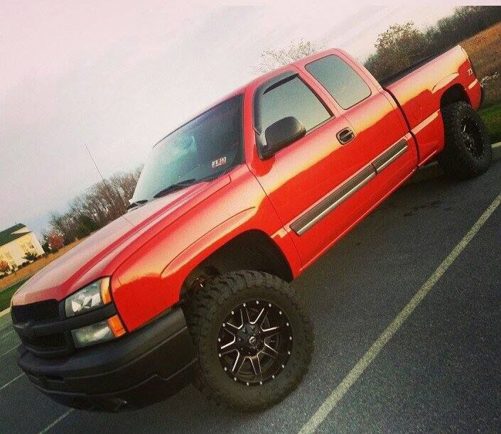 2003 Chevy SIlverado 1500 lifted
