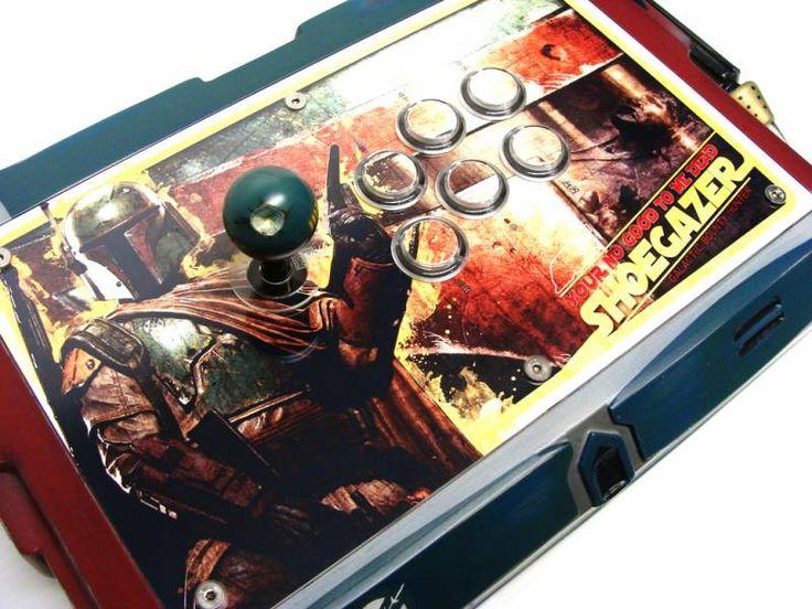Joystick Vault / Boba Fett Custom Arcade Stick