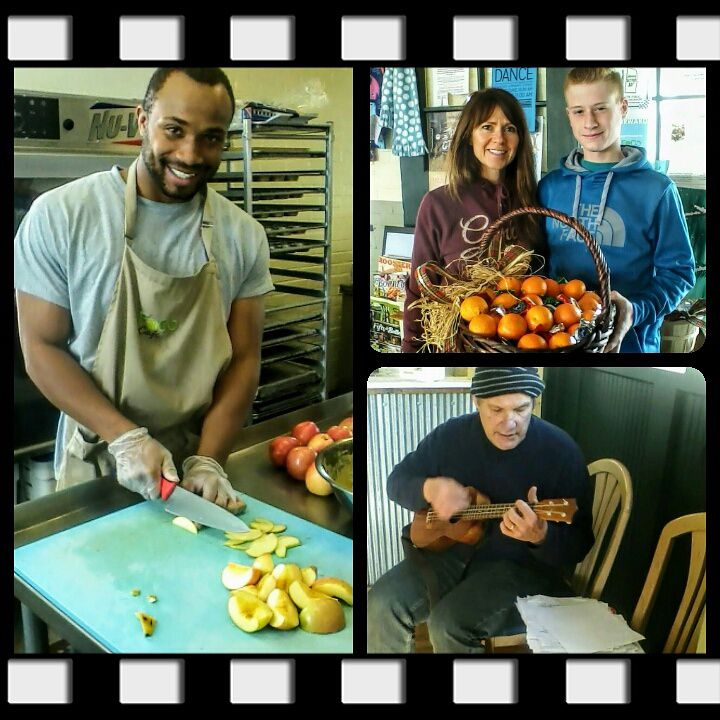 We see snapshots of kindness and community each day at FoCo Cafe, a nonprofit cafe, serving beautiful lunches on a donation-only basis, making healthy food and opportunities to volunteer accessible to all people.
