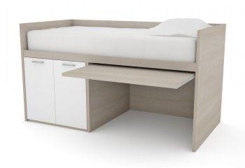 mid sleeper with desk