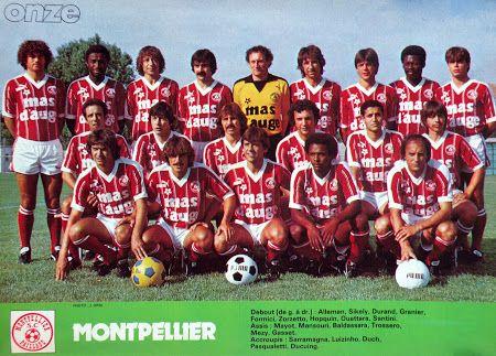 MONTPELLIER LA PAILLADE 1981-82.