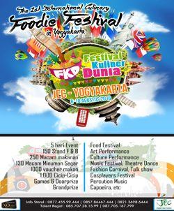 Festival Kuliner Dunia http://www.perutgendut.com/read/festival-kuliner-dunia/2046 #Food #Event #Kuliner #Yogyakarta