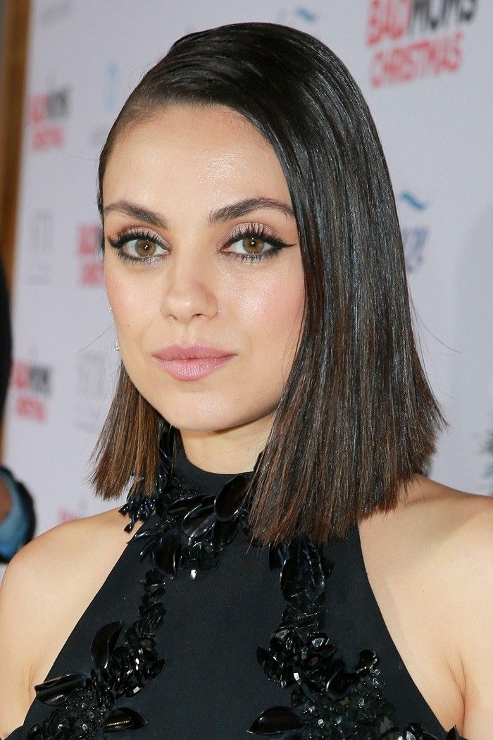 Popular Short Hairstyles By Celebrities For A Round Face Women