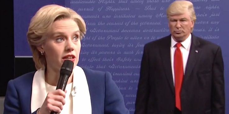 'SNL' spoofs the 'second and worst ever' presidential debate