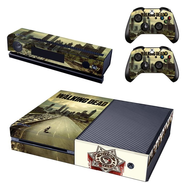 25 best xbox one designs images on pinterest gaming baby and gadget the walking dead xbox one skin sciox Image collections