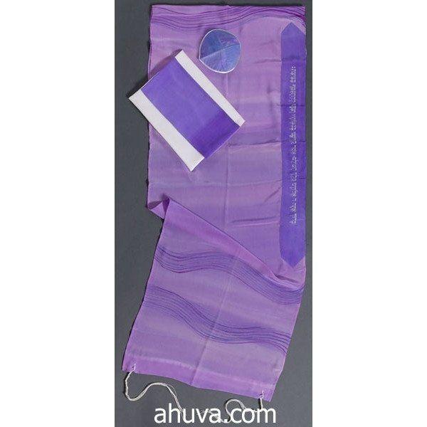 Purple Wave Women's Tallit