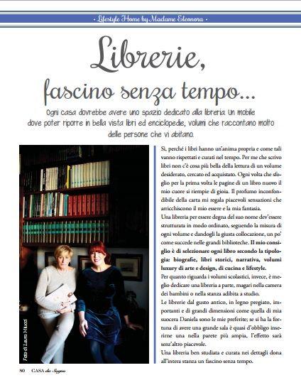 In edicola il numero di gennaio della rivista Casa da Sogno con la rubrica di Eleonora Miucci dedicata alla casa: Lifestyle Home by Madame Eleonora     Questo mese il tema ...