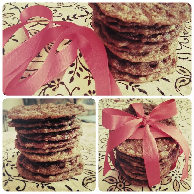 Frikkie Awesome: Nutella Oats Cookies