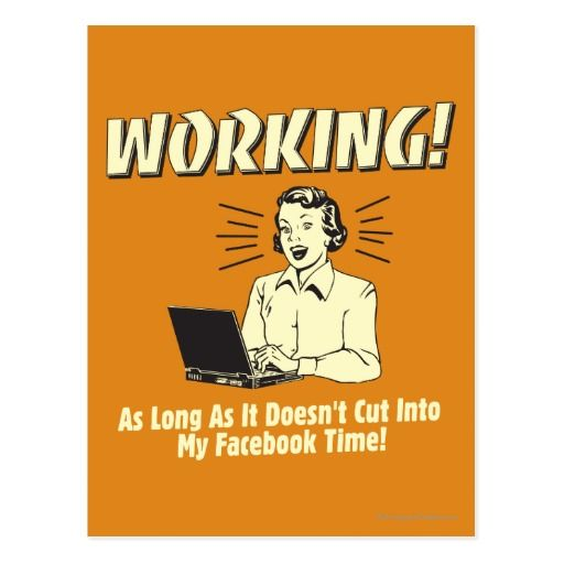 Working: Cut into Facebook Time