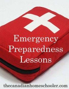 emergency preparedness lessons
