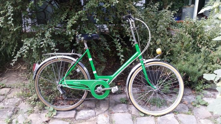 Motobécane vert pour femme bon état, vente occasion vélo loisirs collection vintage - Troc-Vélo