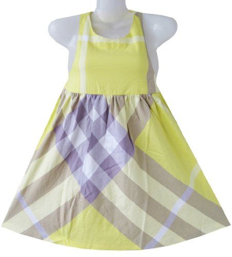 CW61 Girls Dress Halter Yellow Plaid Sundress Party Size 4 Sunny Fashion,http://www.amazon.com/dp/B00BV8UABY/ref=cm_sw_r_pi_dp_FPYBsb02KSN57VH4