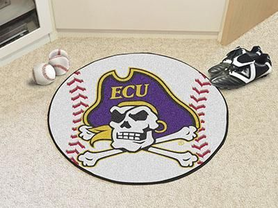 "East Carolina Baseball Mat 27"" diameter"