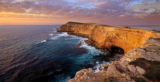Sheringa cliffs Eyre Peninsula Australia by john white photos, via Flickr