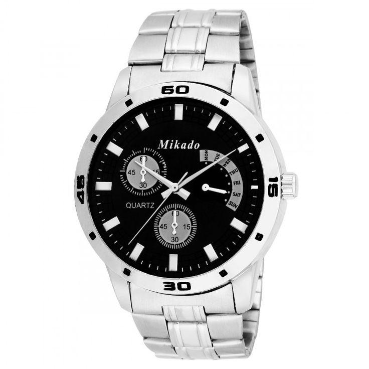 Mikado Silver Color Men's Watch