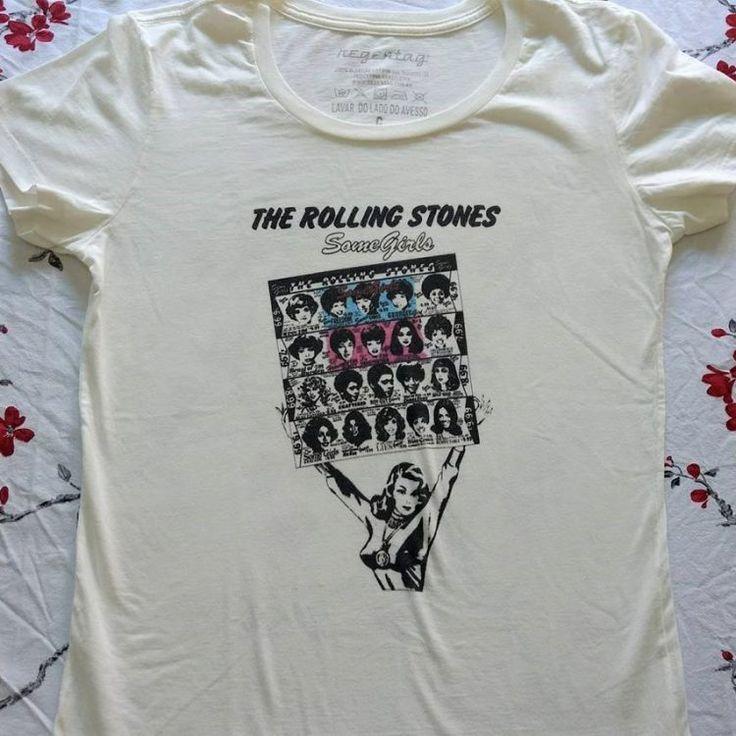 Camisetas dos Rolling Stones com alto padrão de qualidade por R$ 49,90. PROMOÇÃO DE PÁSCOA.