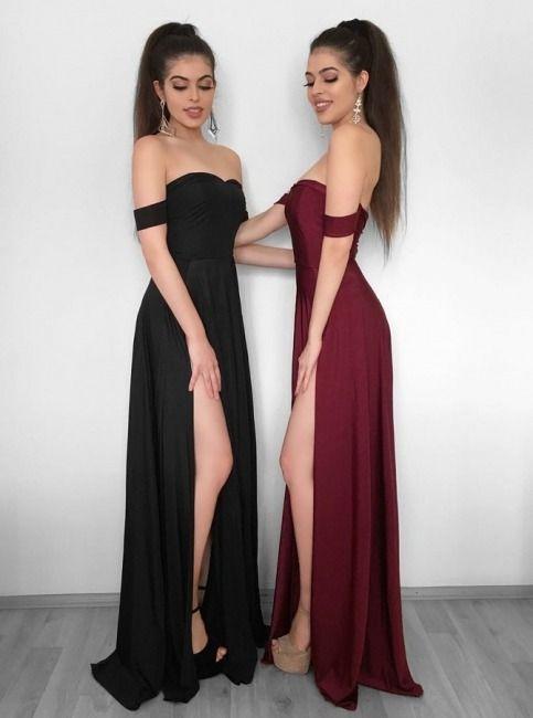 6cf84cb4fd Elegant Off-the-Shoulder 2019 Evening Dress