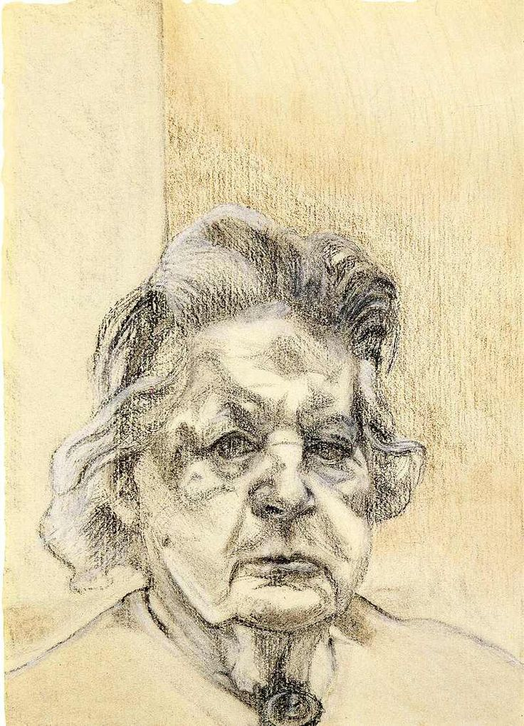 Lucian Freud. Mother of the Artist.