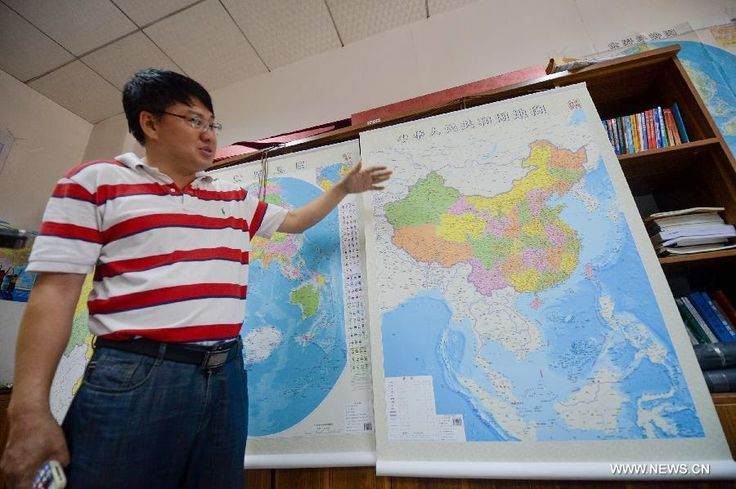 Aksharadhool: New map shows China as a continental country But, in an almost repeat of history of 1950's, China has simultaneously unveiled a new official map of the country, showing its claims on Indian soil as well as on the South China Sea and making the disputed areas including its numerous islets and reefs appear like its national territory, thus proving that all claims made by it to be non expansionist country are totally false.