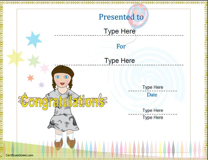 21 best Special Certificates images on Pinterest Certificate - congratulations certificate