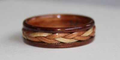 Wear the Warmth of Wood: Wooden Rings and Wild Flowers