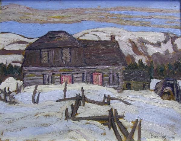 Sir Frederick Banting, creator of insulin and respected amateur painter who painted with Group of 7