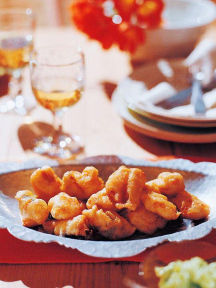 魚介のフリッター、アリニャードソース|『ELLE a table』はおしゃれで簡単なレシピが満載!