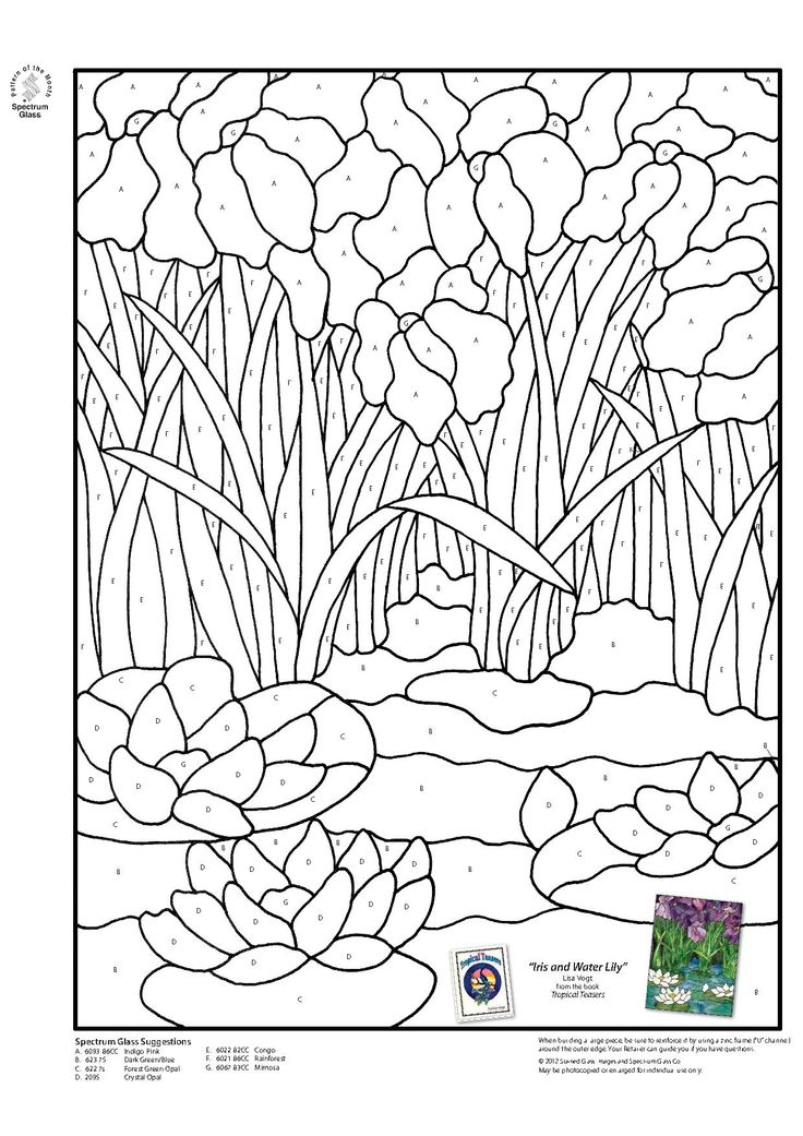Stained Glass Coloring Pages Free Coloring Pages Book Covers