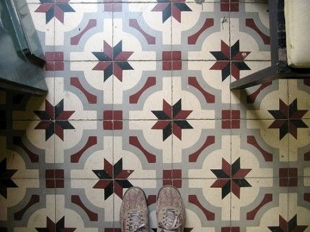 Mosaico hidráulico,de Lisboa a Barcelona | Kireei, cosas bellas