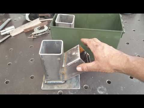 Massive Rocket Stove Heater Quot Tamed Dragon Quot First Stage