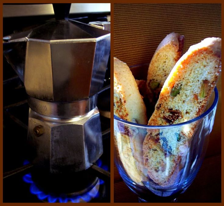 PROUD ITALIAN COOK: Fig and Pistachio Biscotti