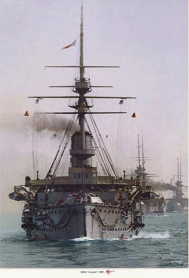 Призраки империй в цвете 1860-1918 гг.  (ч.2 Великобритания. Royal Navy) - Художественные и исторические фотографии