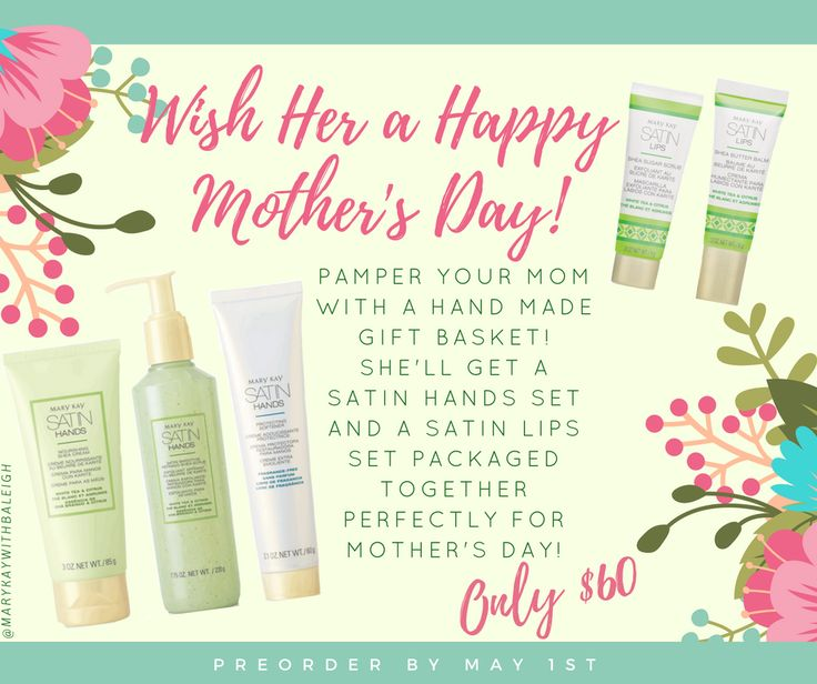 Mary Kay Mother's Day! Let me help you find that Great Gift!! www.marykay.com/nahernandez