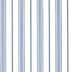 Thibaut Signature Prints - St. Charles Stripe - Fabric - Blue and White.  Kitchen?