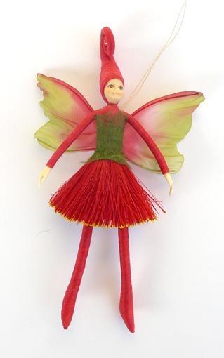 NZ Pohutukawa Elf Doll