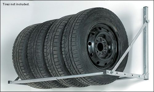 If I had a garage and owned snow tires this would be useful to have. Tire Rack - Woodworking