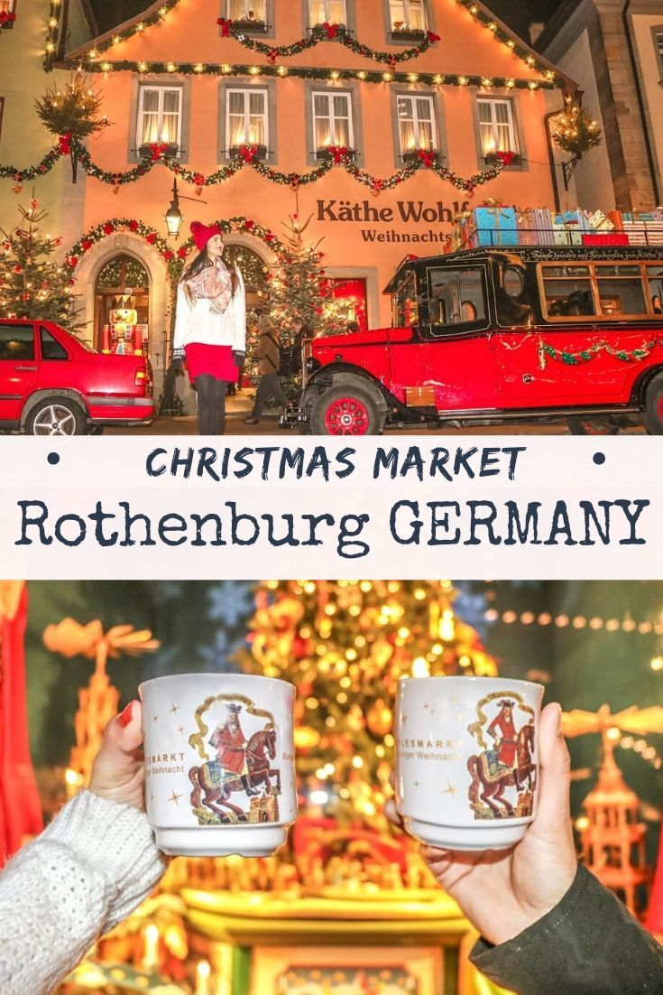 What to Expect at Rothenburg Christmas Market? in 2020 | Christmas